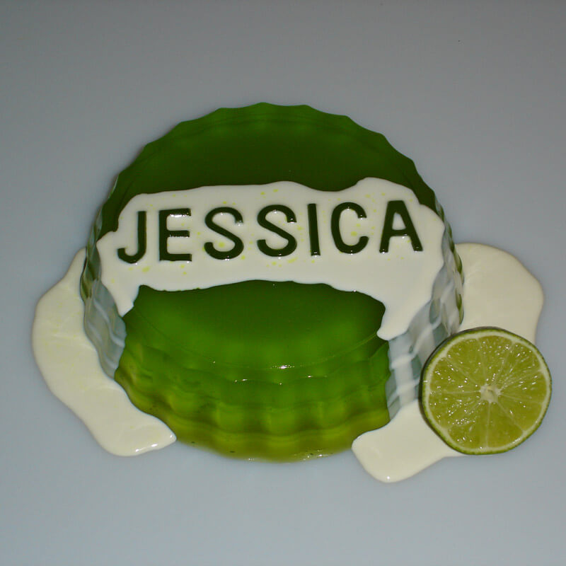 Personalised Jelly Mould - 18th gift