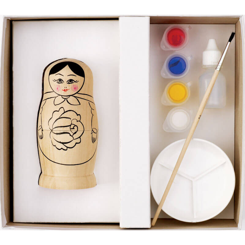 Russian Doll Painting Craft Kit