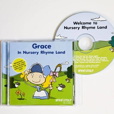 Personalised Story CD - Nursery Rhyme Land