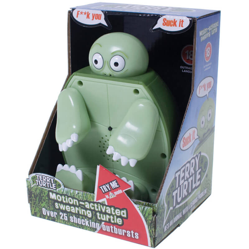 Terry the Swearing Turtle