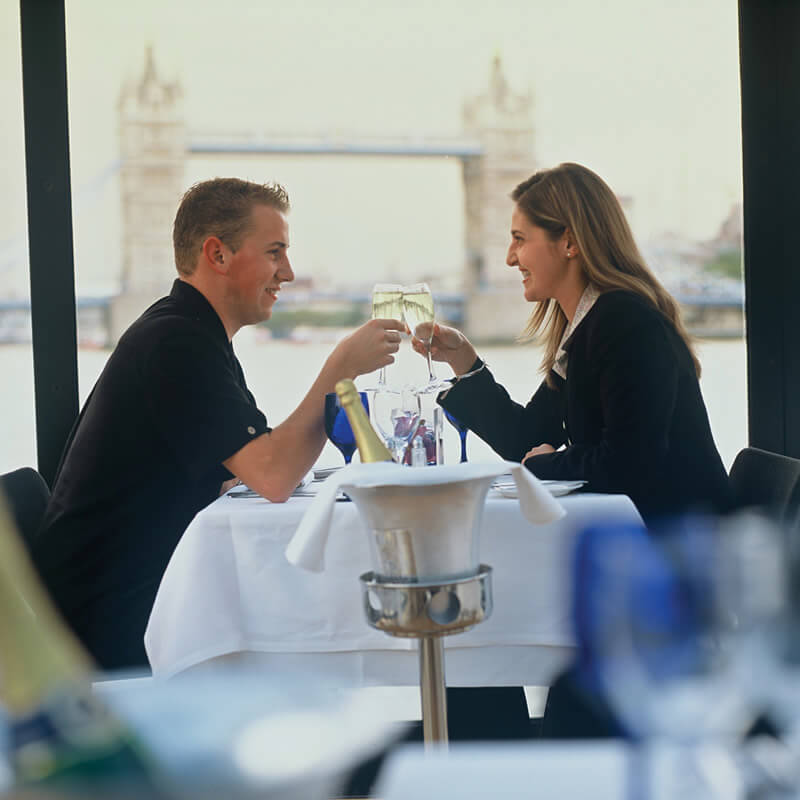 Sunday Lunch Jazz Cruise for Two