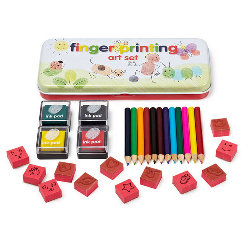 Finger Painting Art Set - Children's Birthday Your Kids Bday - 5th Birthday
