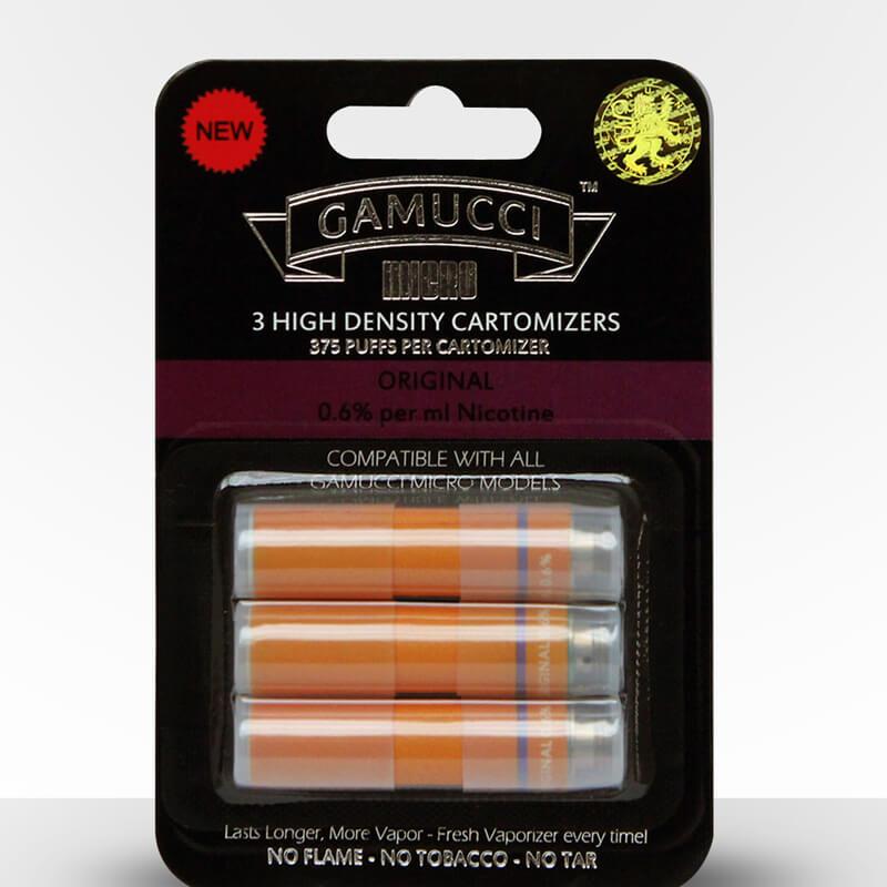 Gamucci Micro Cigarette 3 Cartomizer Refill Pack - Ultra Light