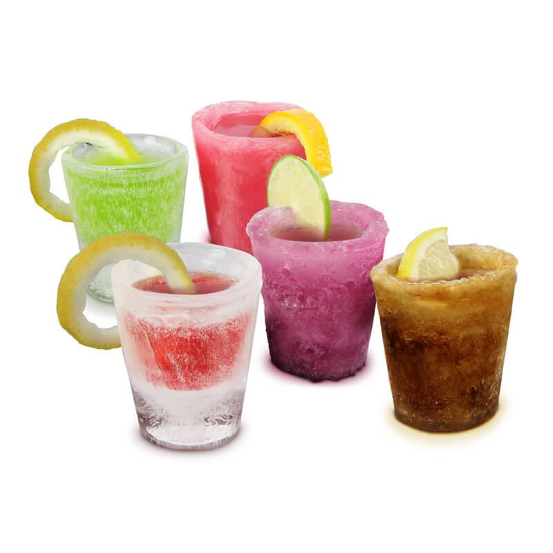 Shot Glasses Ice Mould (12 Pack)