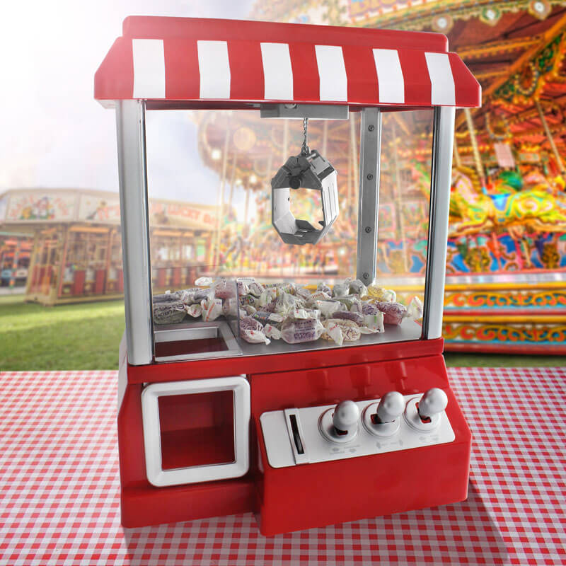 Fairground Candy Grabber - Children's Birthday Your Kids Bday - 10th Birthday