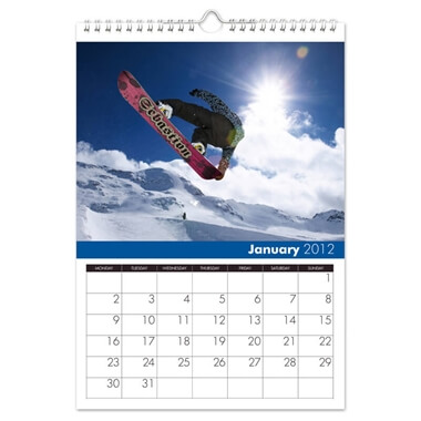 Seasons Personalised Calendar - A4