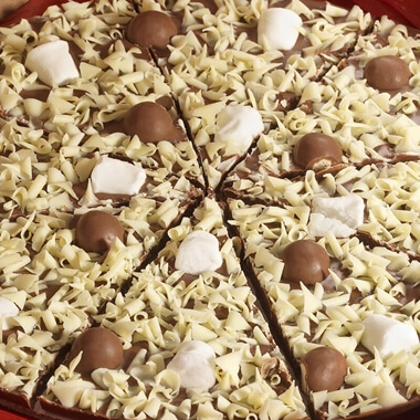 Chocolate Pizza - Honeycomb and Marshmallow - 10""