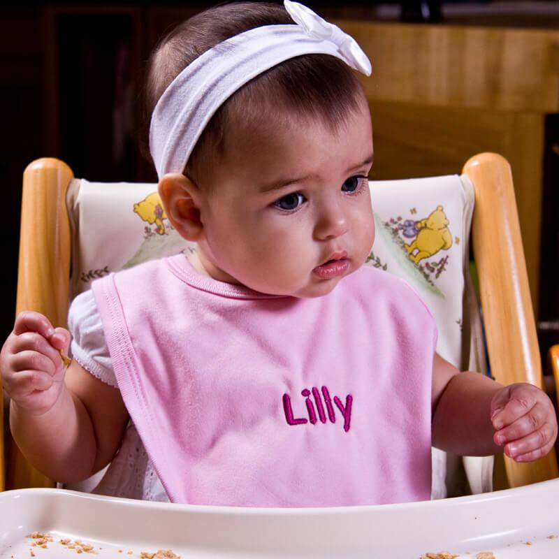 Personalised Baby Bib Set - 3 Pack