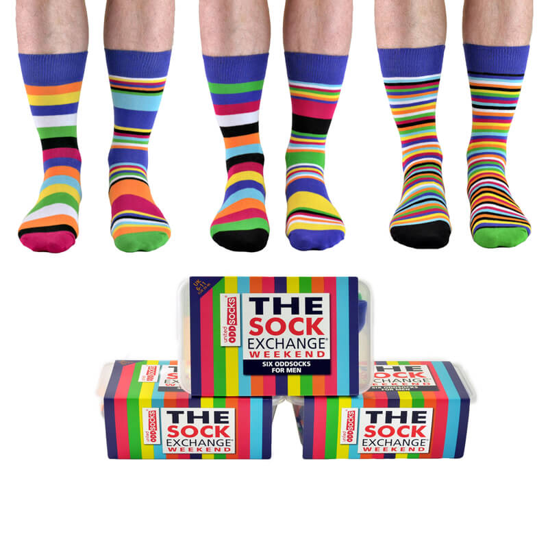 The Sock Exchange Weekend Mens Socks - 30th gift