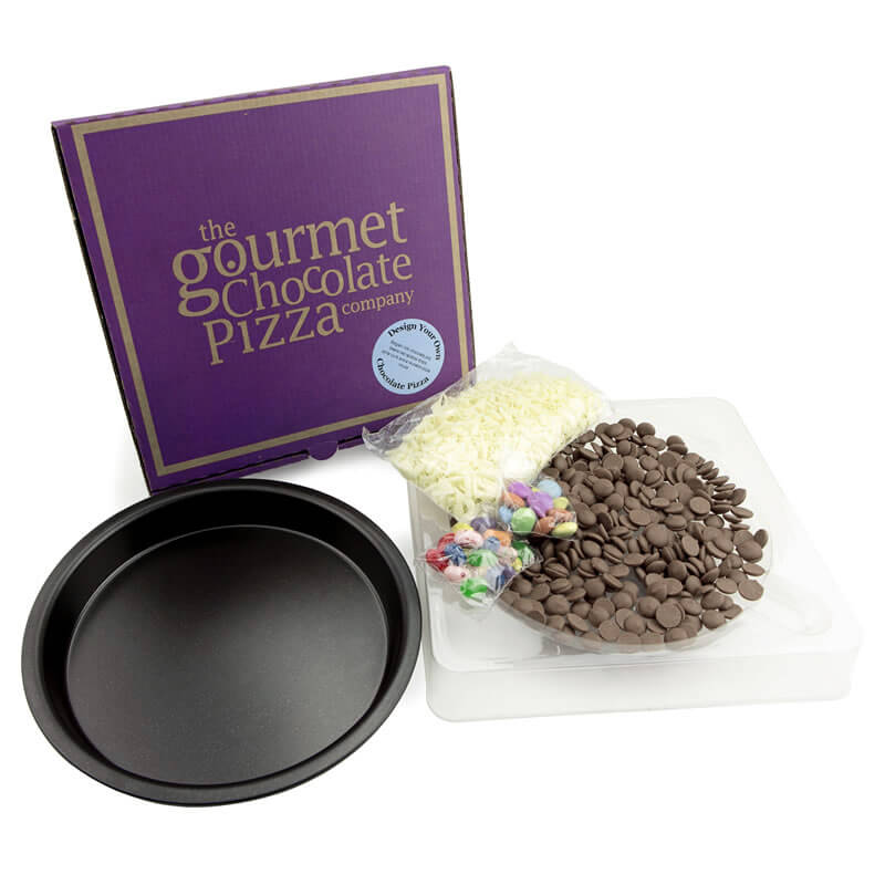 Make Your Own Chocolate Pizza - 40th Birthday Novelty Gifts