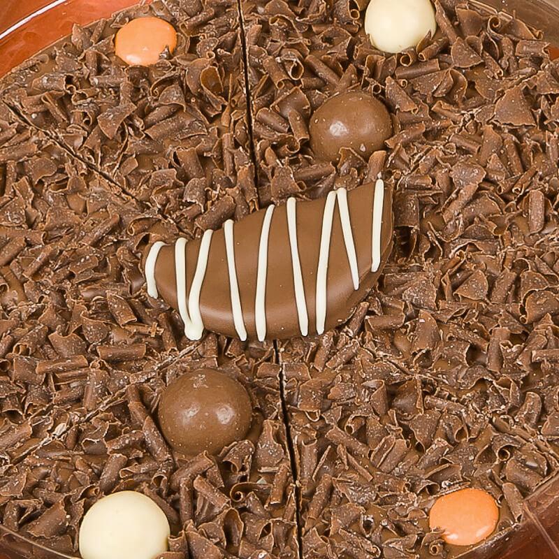 """Chocolate Pizza - Ultimately Orange - 10"""""""