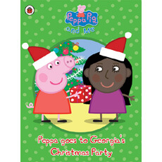 Personalised Peppa Pig - Peppa goes to Your Child's Party (Christmas)