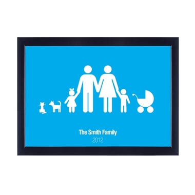 Personalised Poster - Family