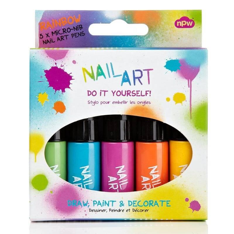 Do It Yourself Nail Art Minis - Rainbow Brights