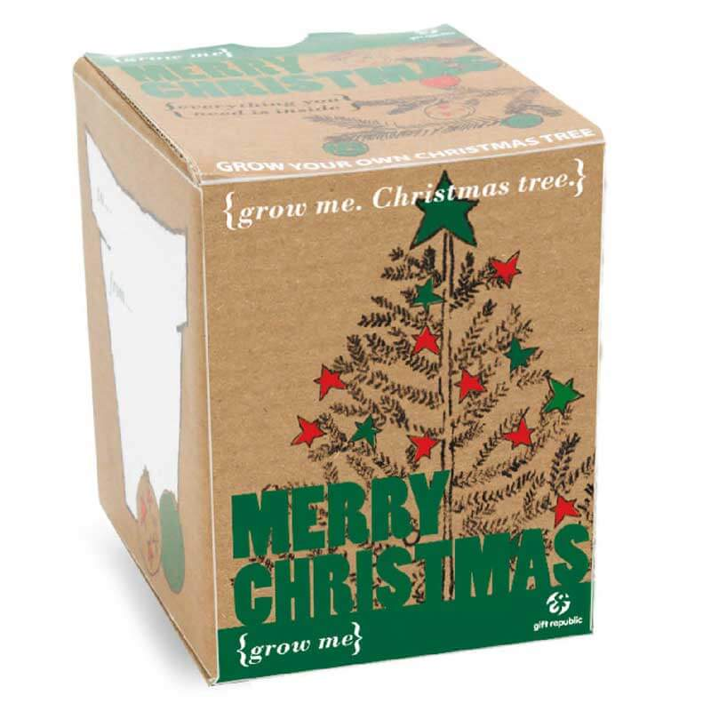 Grow Me - Christmas Tree - Christmas  gift