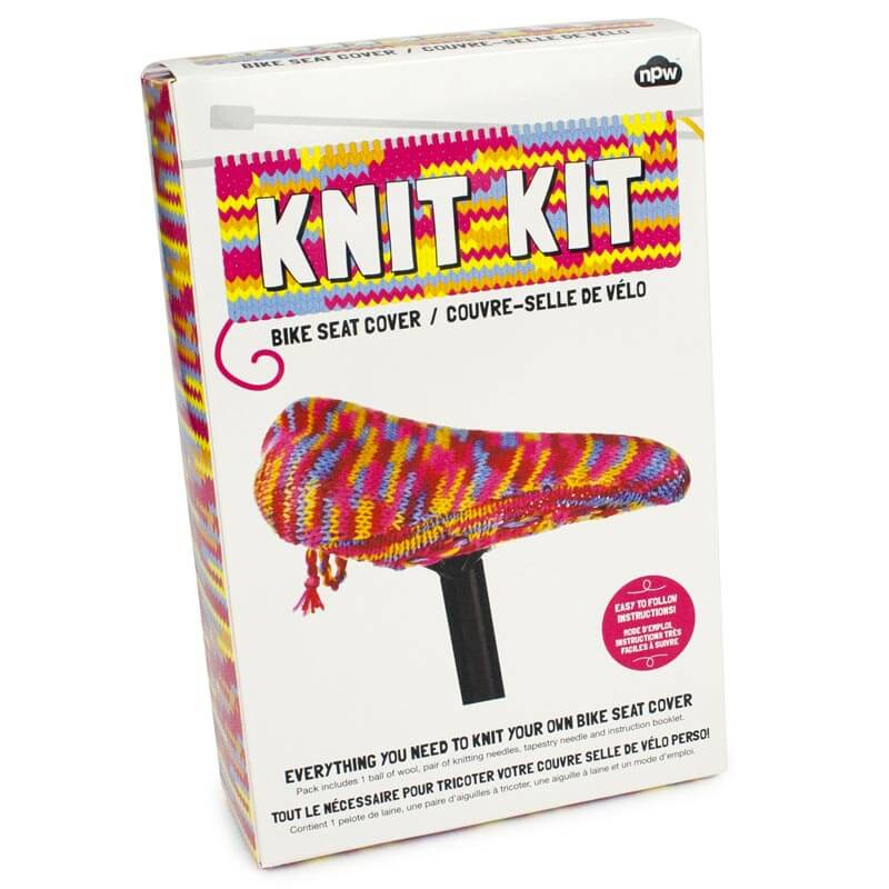 Knit Your Own Bike Saddle