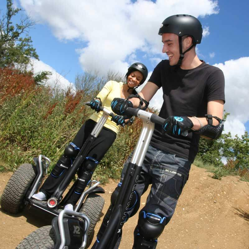 Weekend Segway Rally for Two Special Offer - 30th gift