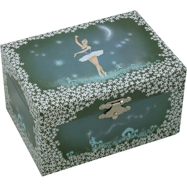 Ballerina Fairy Musical Jewellery Box