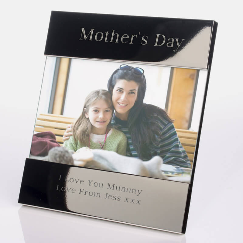 Personalised Silver Photo Frame - Mothers Day