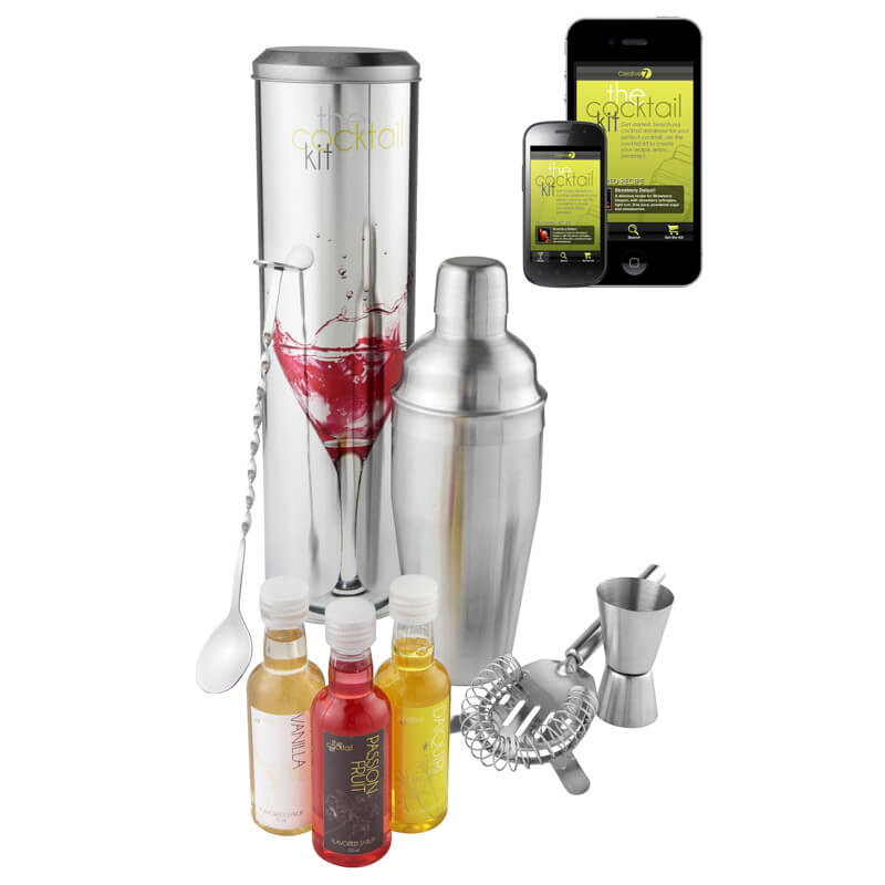 Cocktail Mixing Kit with Recipe App
