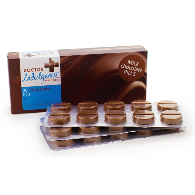 Chocolate Pills - Milk Chocolate