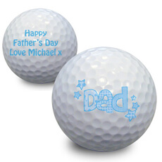 Personalised Dad Golf Balls