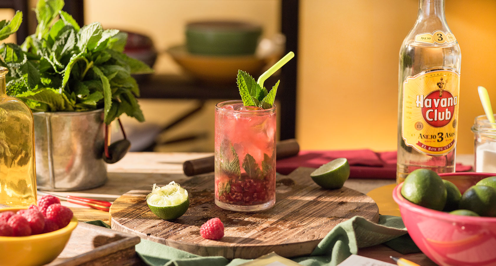 Raspberry Twist Mojito Havana Club