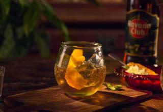 Recept na koktejl Rum Old Fashioned Havana Club