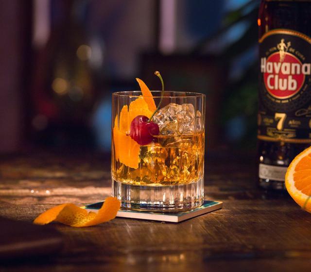 Recept na koktejl 7 Naranja Havana Club