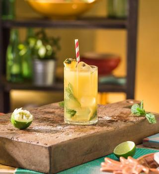 Pineapple Twist Mojito
