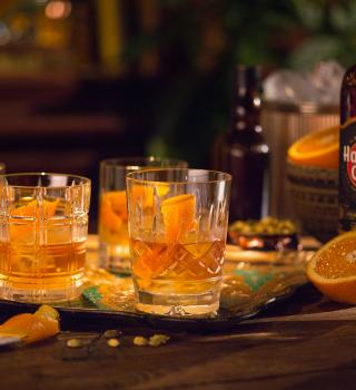 Rum Old Fashioned for many