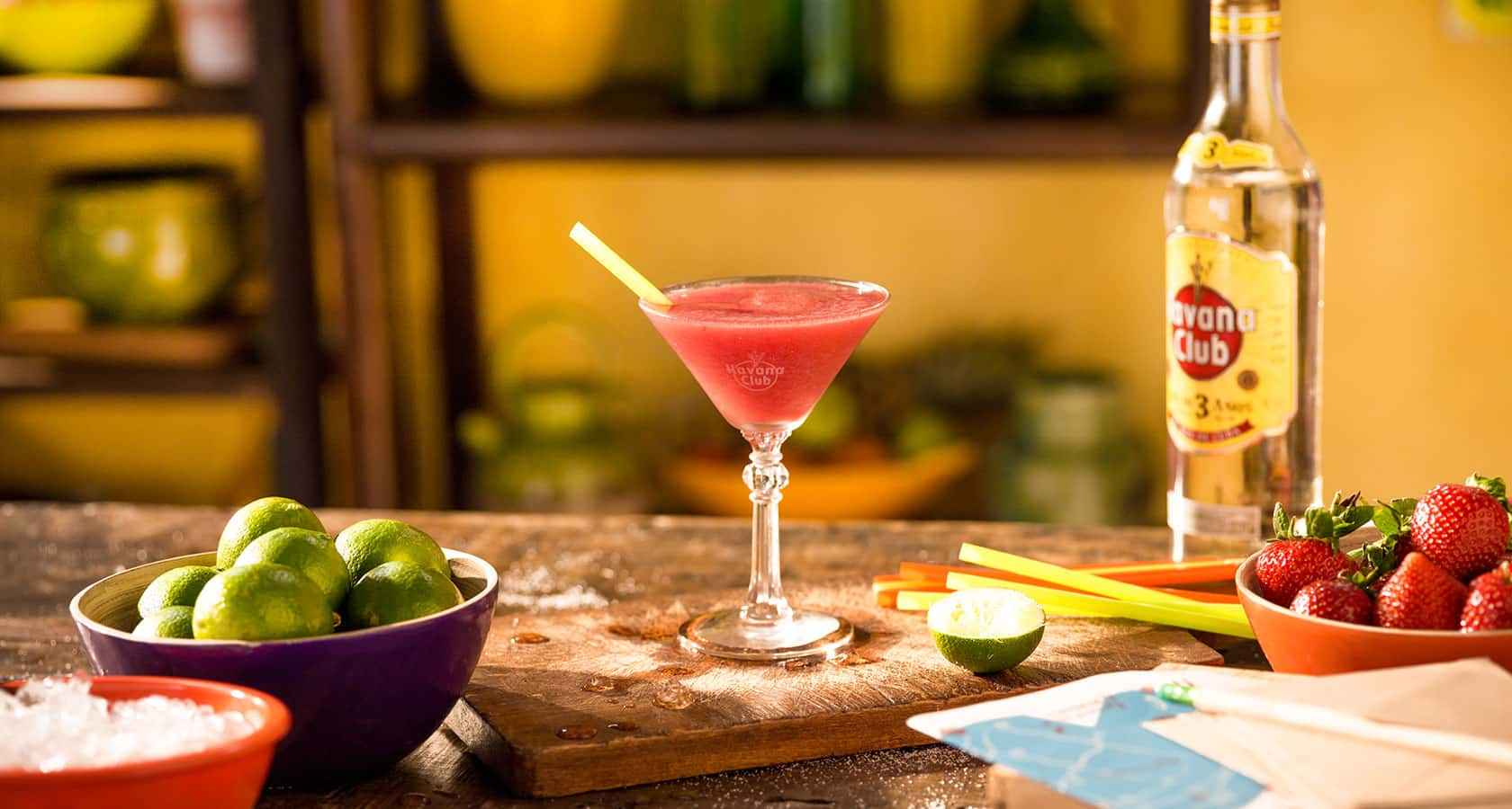 frozen fruit daiquiri cocktailrezept havana club. Black Bedroom Furniture Sets. Home Design Ideas