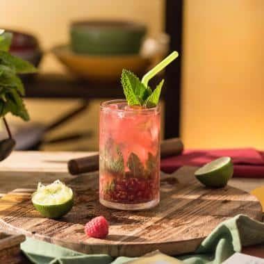 Cocktailrezept Himbeer Mojito
