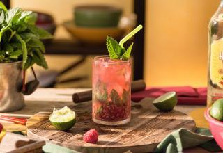 Recette cocktail Mojito Framboise Havana Club