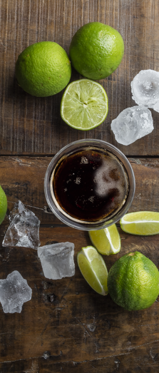 Ingrédients du cocktail Cuba Libre Havana Club