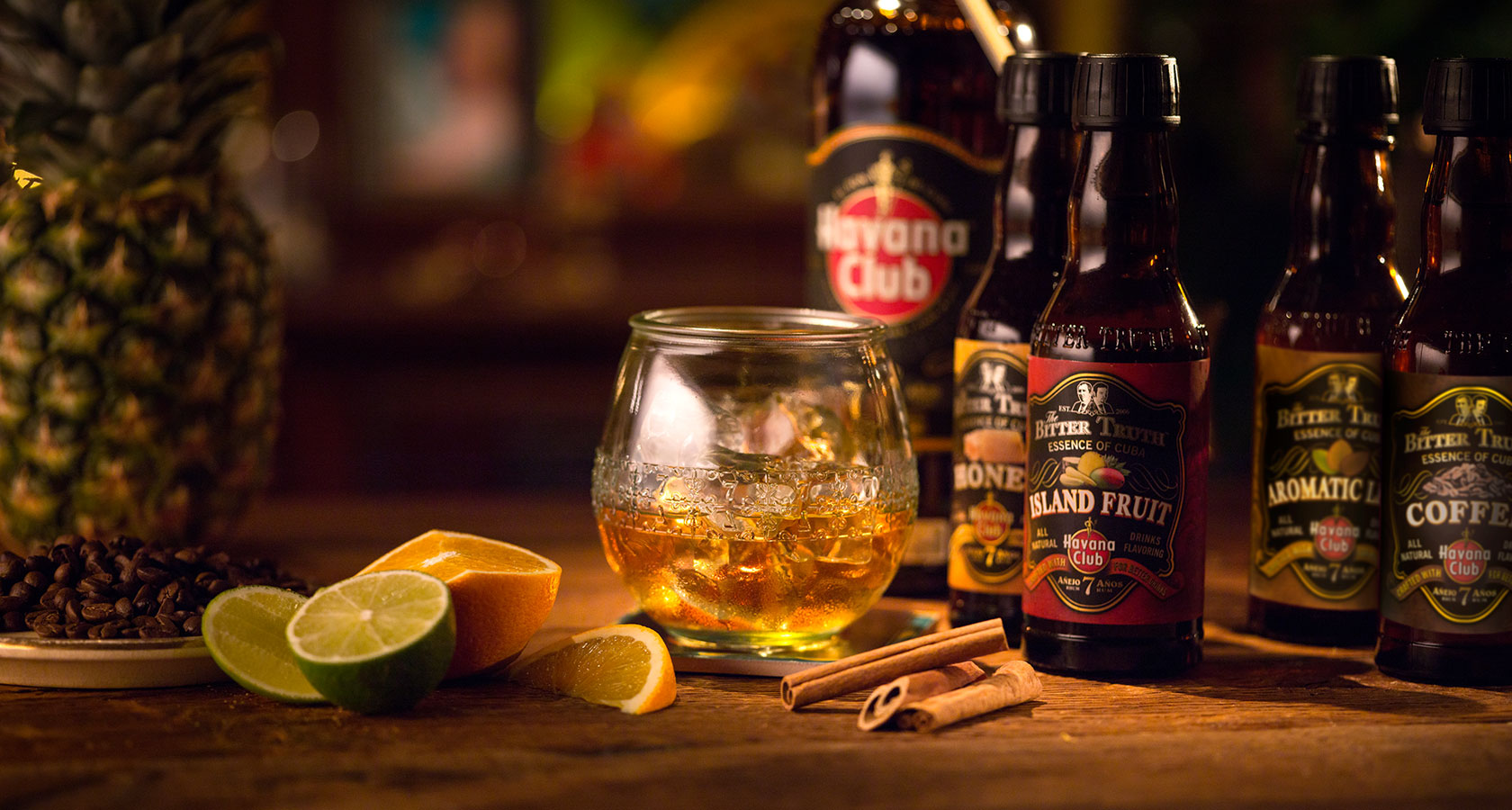 7 neat with essence of cuba recipe rum cocktails for Cocktail havana club