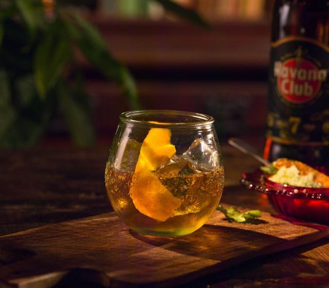 Rum Old Fashioned Recipe