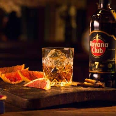 Ricetta 7 sips grapefruit and cinnamon Havana club