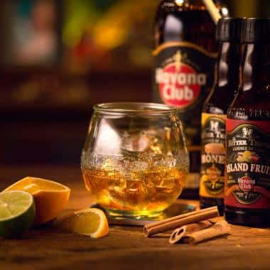 Ricetta 7 Neat with Essence of Cuba Havana club