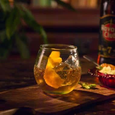 Ricetta Rum Old Fashioned Havana Club