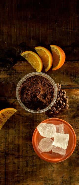 Ingredienti 7 sips orange and coffee Havana club