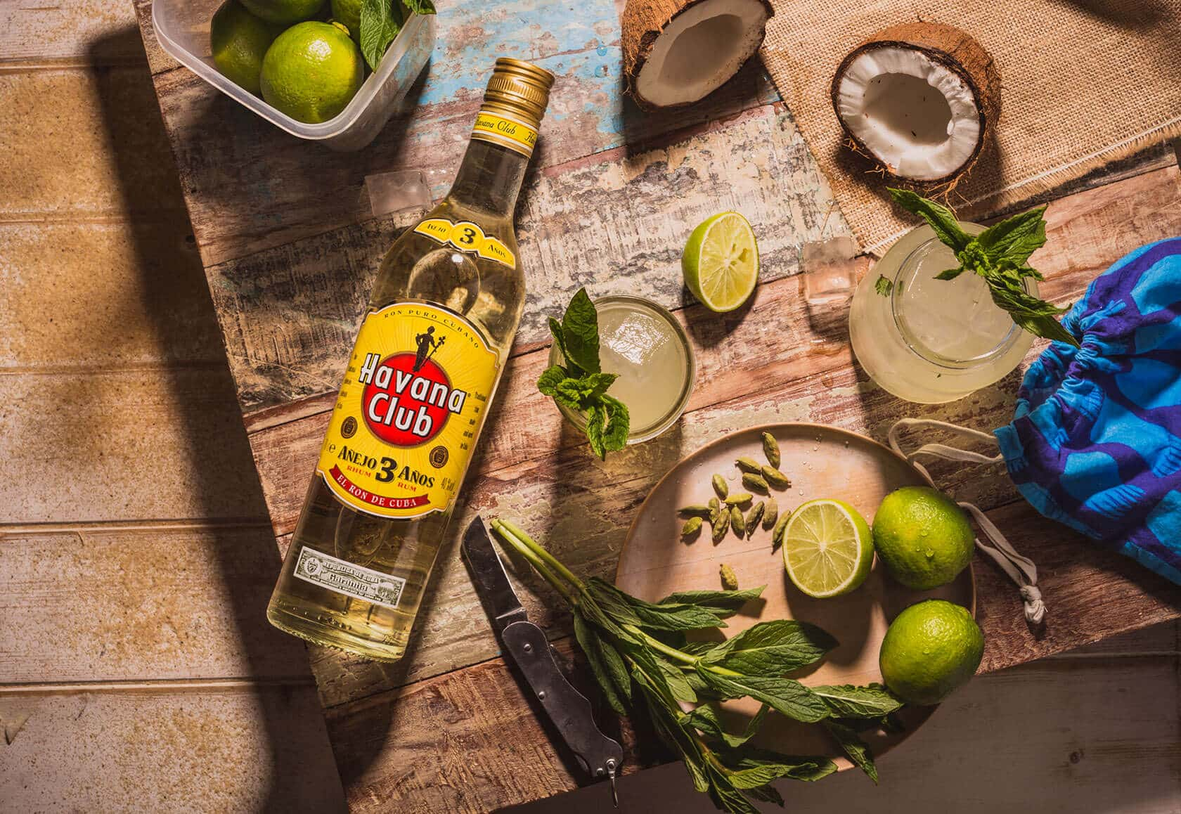 Perfect cocktails recipes to refresh after the beach for Cocktail havana club