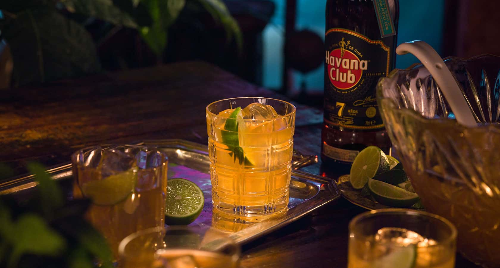 Canch nchara for many recipe rum cocktails havana club for Cocktail havana club