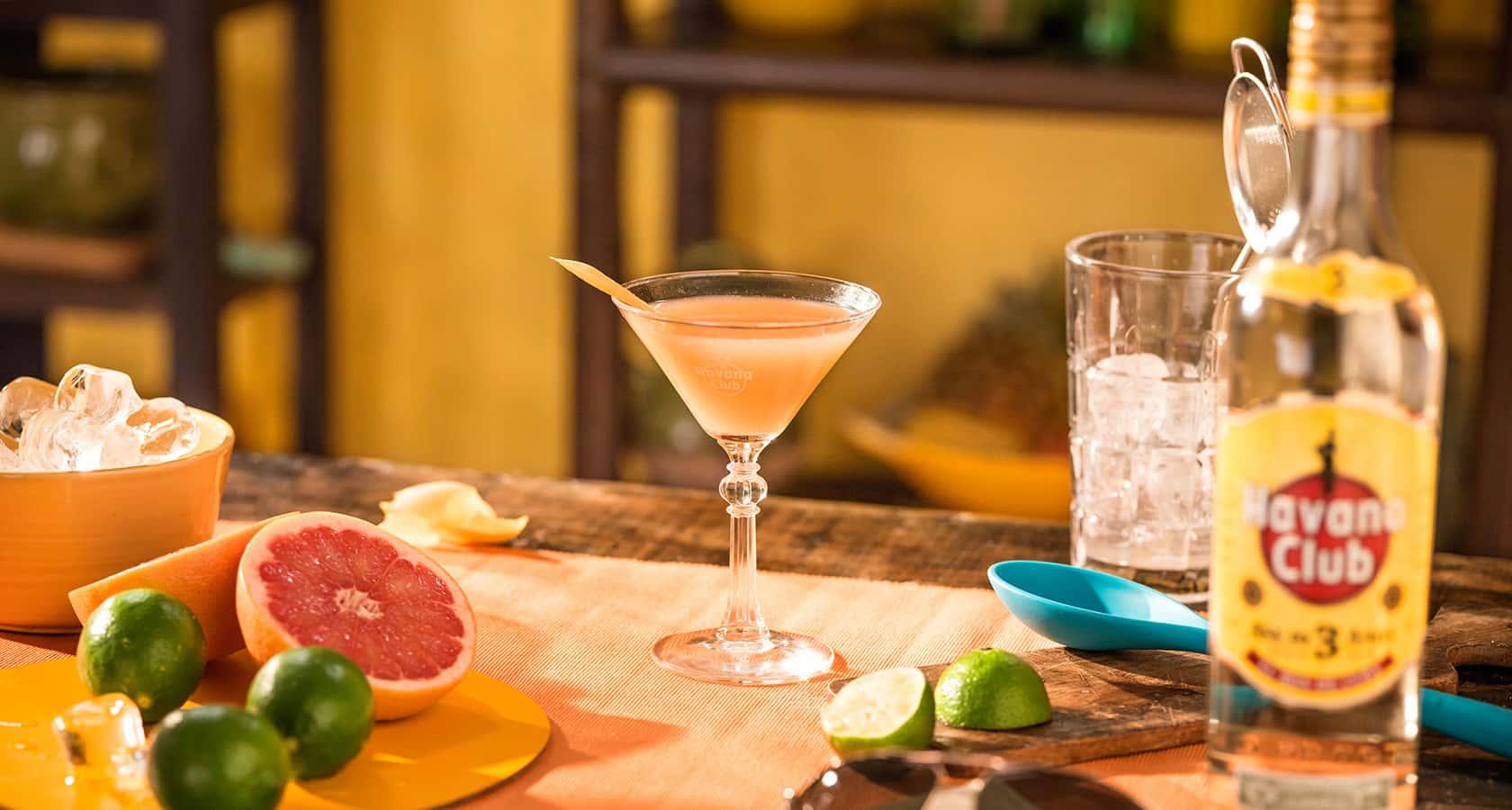 Hemingway Daiquiri Recipe - Rum cocktails - Havana Club