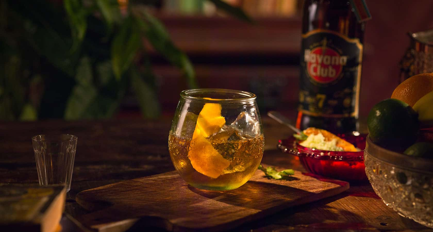 Rum old fashioned recipe rum cocktails havana club for Cocktail havana club