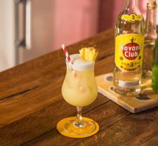 Pina colada Cocktail recipe Havana club