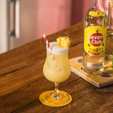 Pina colada Cocktail recipe Havana club