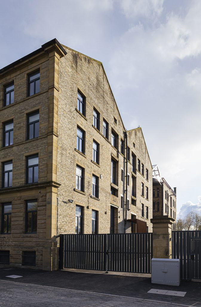 Exterior view of the Grade II listed Conditioning House in Bradford