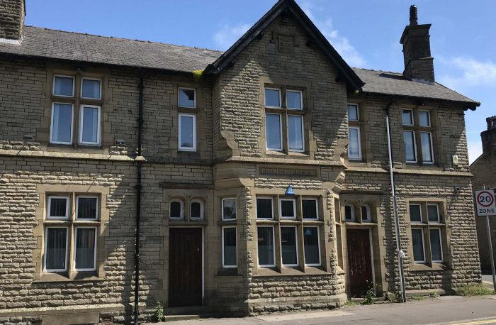 Priestley construction old police station conversion