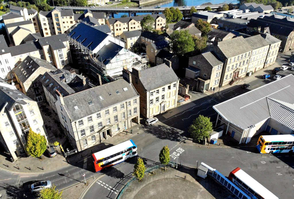 renovation of grade 2 listed building to new student accommodation in lancaster by priestley construction